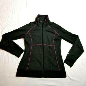 Columbia xs full zip sweatshirt gray